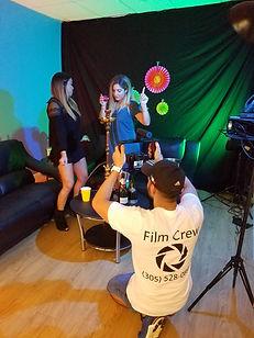 reggeaton music video miami, filming music video