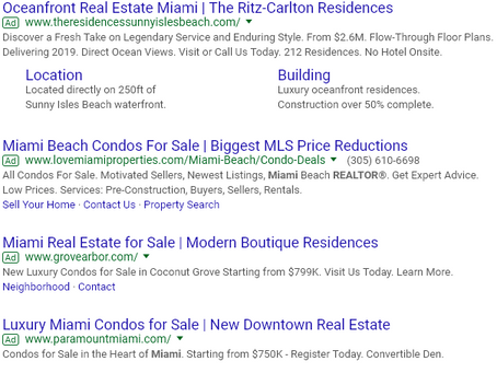 Using video through google's ad platform to reach real estate buyers and sellers