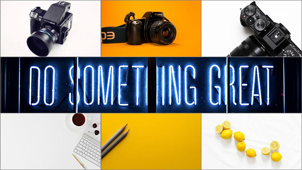 video marketing. Do something great!