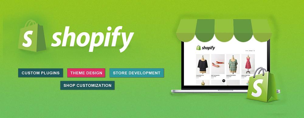 aplicacion / pagina web de Shopify