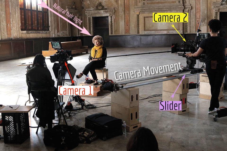film, documentary, interview, camera movement
