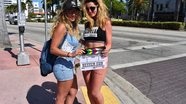 Miami Beach Music Video Shoot
