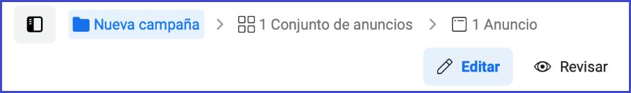 Facebook Business Manager - Configuracion de camapaña