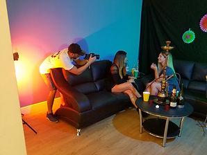 cubaton music video, tomas de produccion audiovisual
