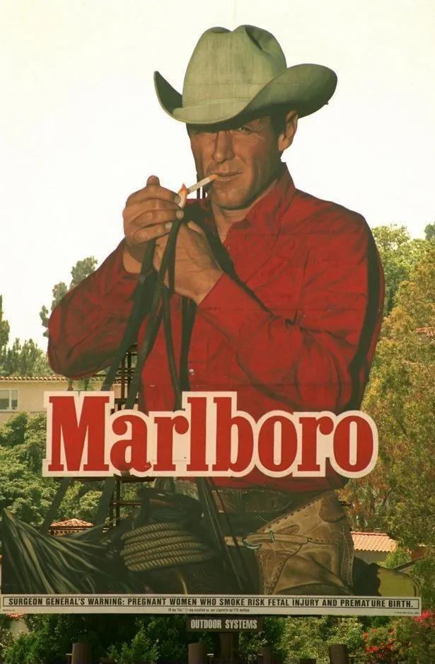 advertising golden age. Marlboro advertising designs.