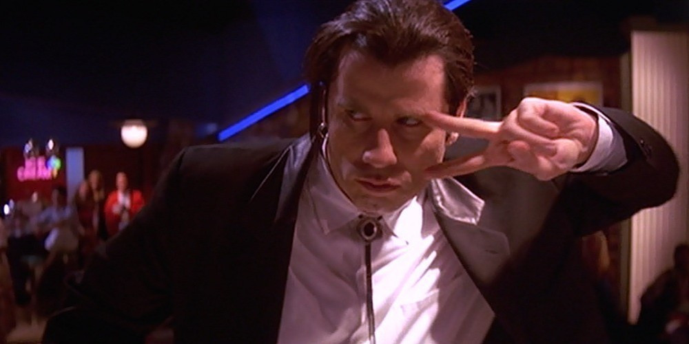 standard lens example, pulp fiction, videography