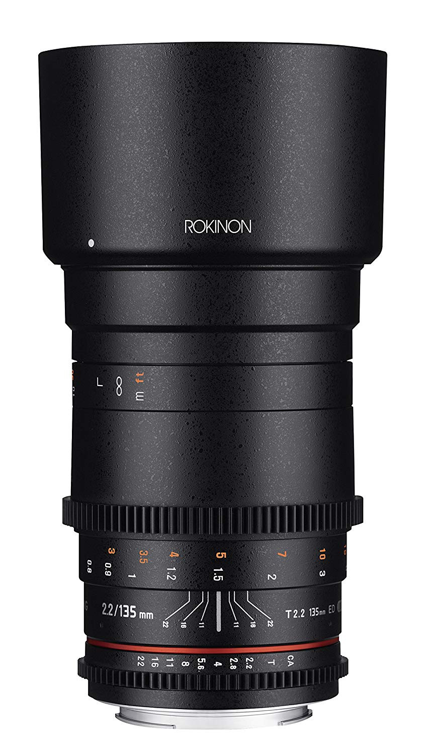 rokinon cine 135mm lense for videographers
