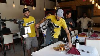 Miami film crew
