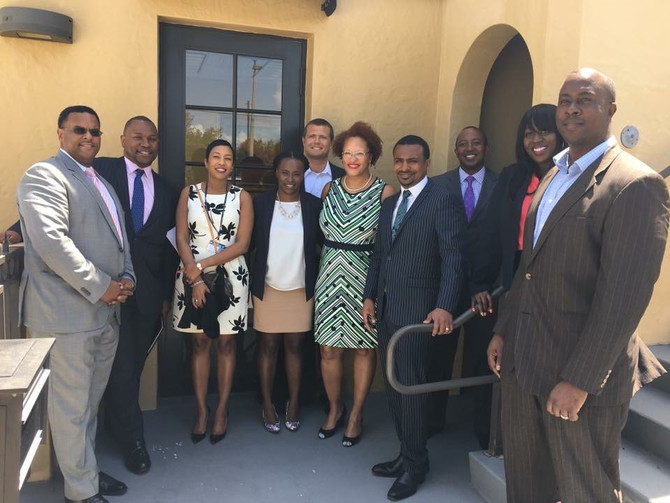 Boysaw Law Hosts Luncheon for Palm Beach Lakes High School Gerald A. Williams Law Academy Students
