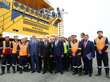 В «Черниговце», который посетил В.В. Путин, произведен запуск системы ЭСМО