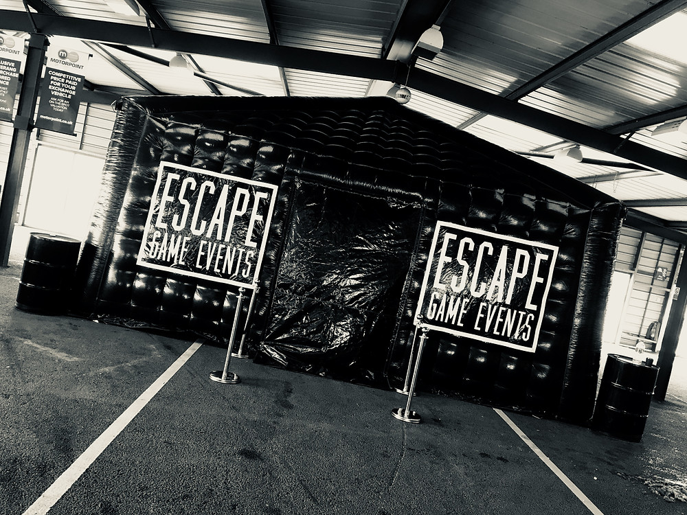 inflatable escape room