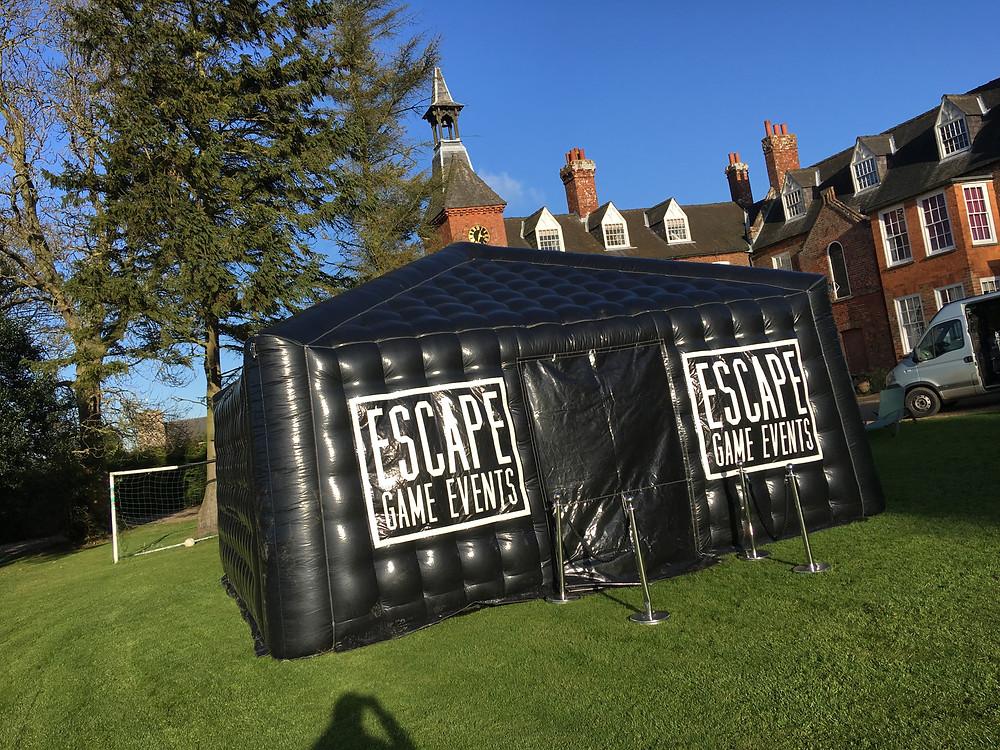 mobile escape room, portable escape room