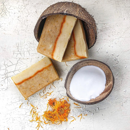 Calendula + Coconut Milk Soap