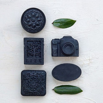 Tea Tree + Charcoal •This soap is the pe