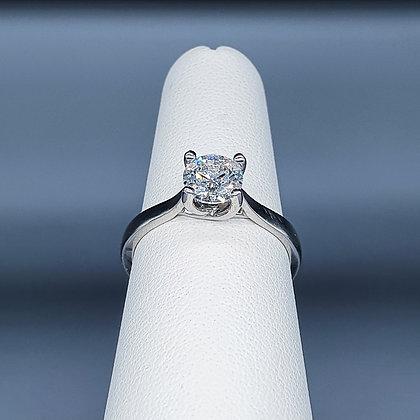 0.90ct diamond solitaire