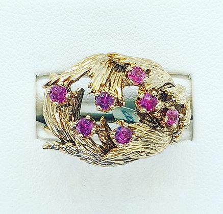 1960's Ruby dress ring