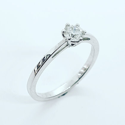 0.33ct diamond solitaire ring