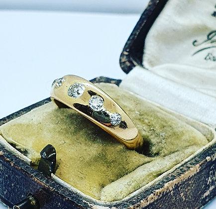 Antique diamond band