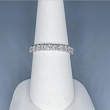 Diamond full eternity ring