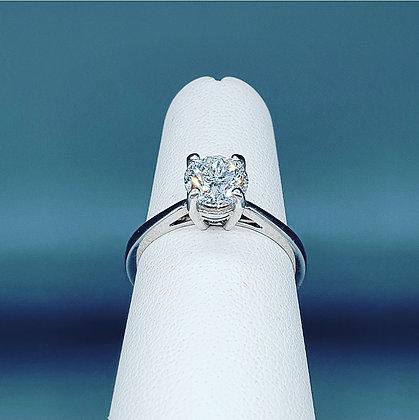 Diamond solitaire ring 1.00ct