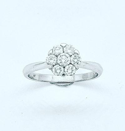 Diamond daisy cluster
