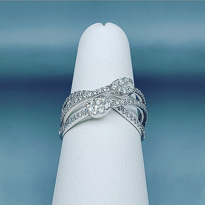 """""""Cluster and waves"""" ring"""