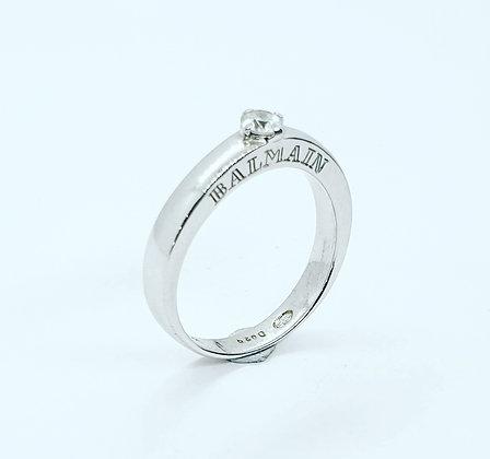 Balmain diamond solitaire