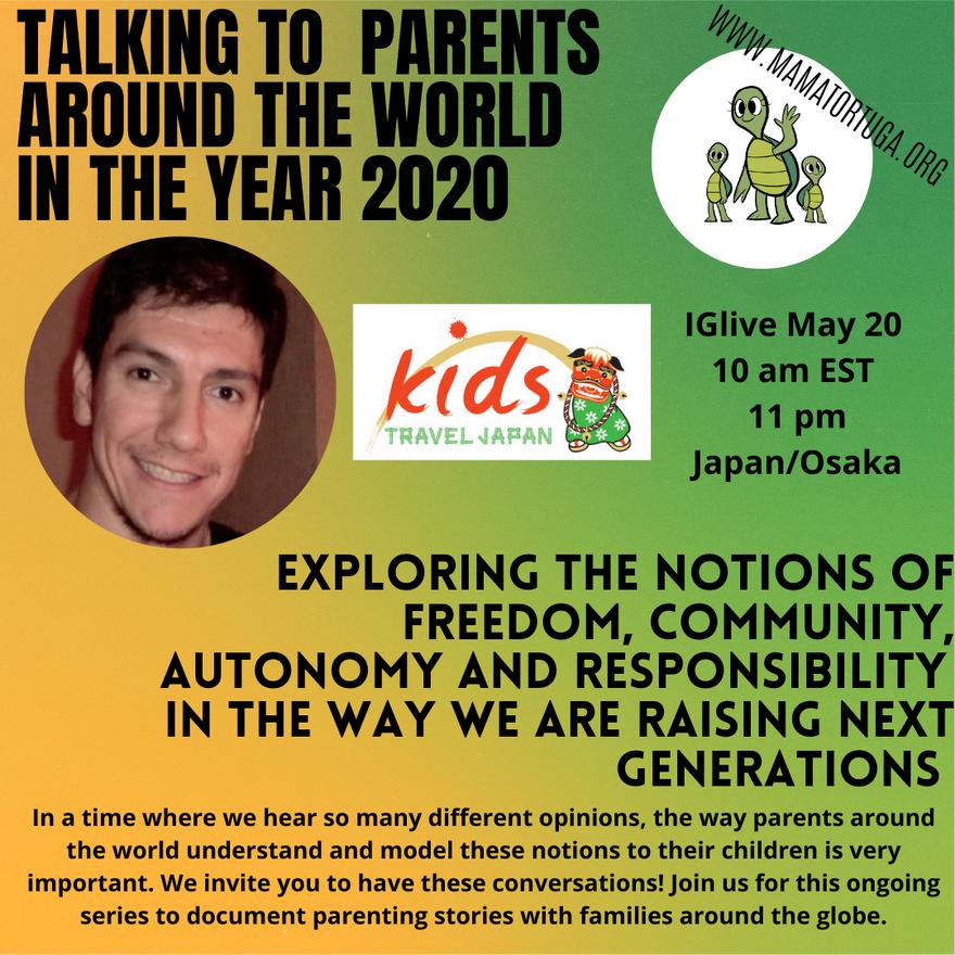 PARENTING IN OSAKA JAPAN