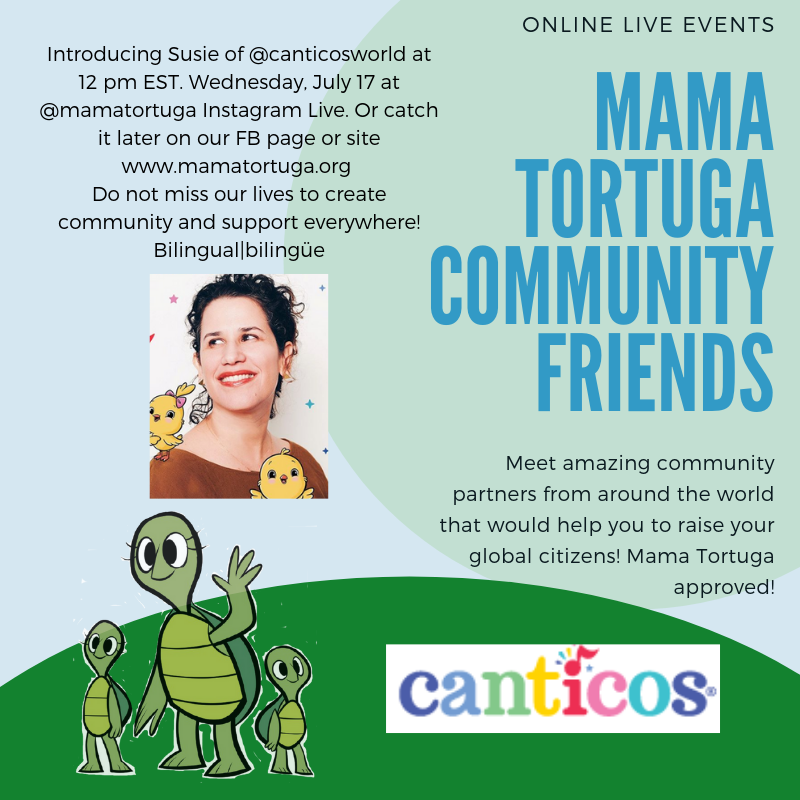Mama Tortuga IG LIve 11 CanticosWorld (1