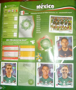 World Soccer Cup album