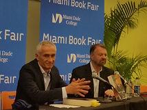 Jorge Ramos at Miami Book Fair