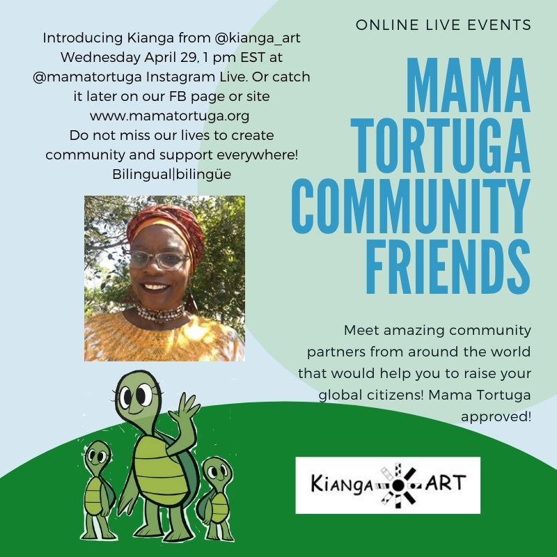 Mama Tortuga IG LIve 20 @kiangaart