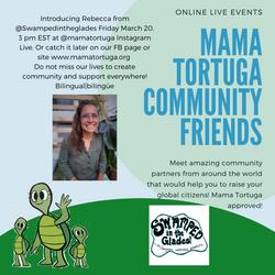 Mama Tortuga IG LIve 19 @swampedinthegla