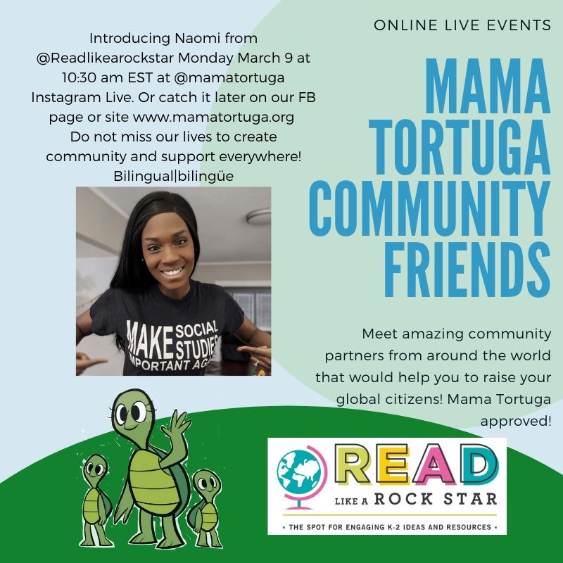 Mama Tortuga IG LIve 18 @readlikearockst