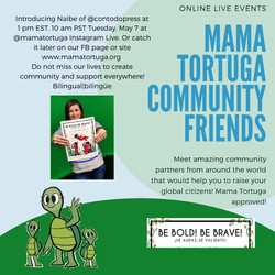 Mama Tortuga IG LIve 8 Con todo press