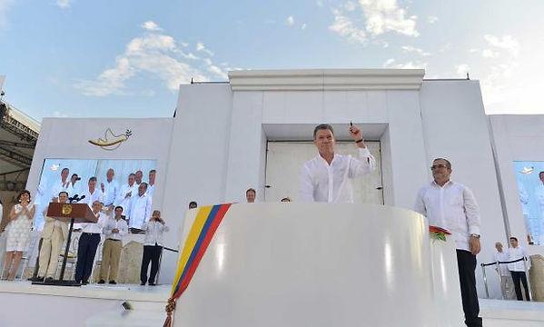 COLOMBIA PEACE TREATY