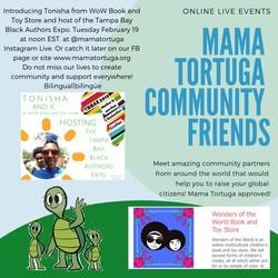 Mama Tortuga IG LIve 2 Tonisha