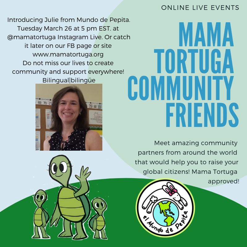 Mama Tortuga IG LIve 4 Mundo de Pepita