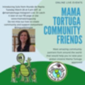 Mama Tortuga IG LIve 4 Mundo de Pepita.j