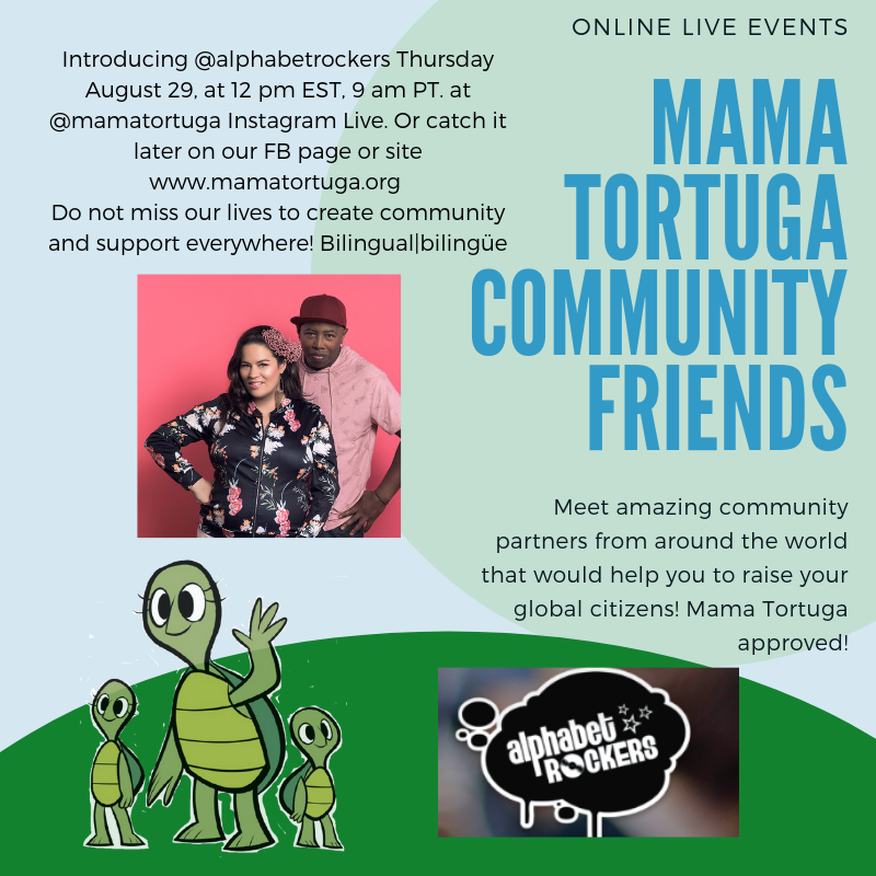 Mama Tortuga IG LIve 12 AlphabetRock