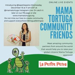 Mama Tortuga IG LIve 15 _lapetitepetra