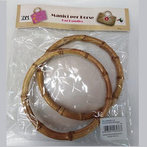 Coppia manici in legno diam. 12 -15 - 19