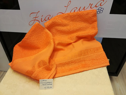 asciugamani viso + ospite