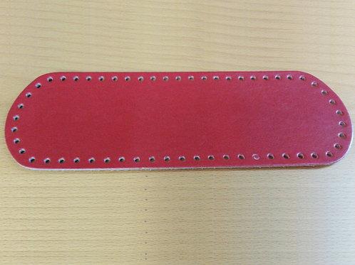 Fondo per borsa cm 10x30 colore rosso scuro