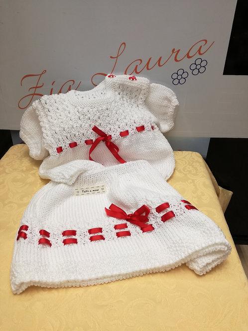 gonna + maglia in cotone 12/18 mesi