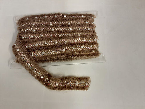 Passamaneria lana con perle