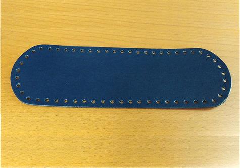 Fondo per borsa cm 10x30 colore blu