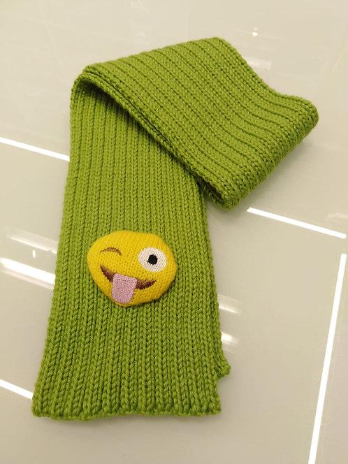 Sciarpa bimbo/a con Smile cm 85x10