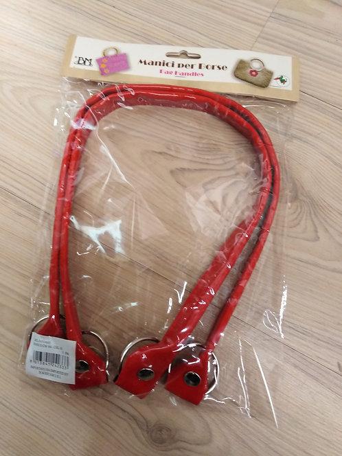 Manico vernice rosso cm 64