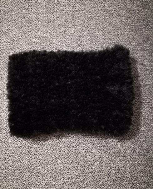 Collo in pelliccia - 100% microfibra fatto a mano